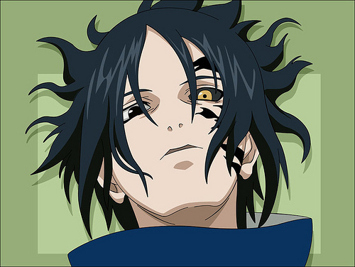 Sasuke's curse mark - sasukes-curse-mark Screencap