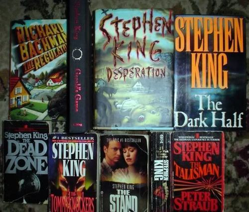 Some of Stephen King's Bücher
