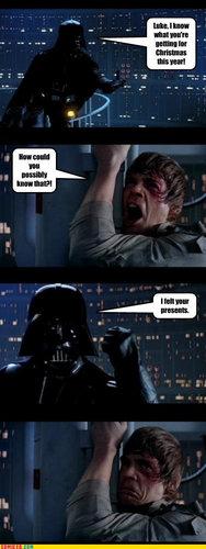 estrela Wars- X-Mas humor