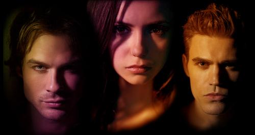 TVD - Elena, Stephan & Damon
