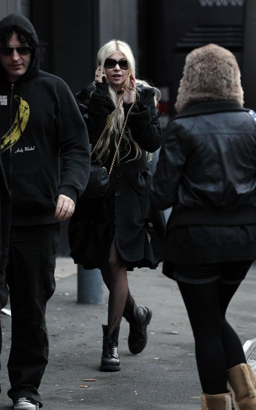 Taylor e Ben em Manchester
