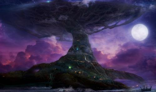 Teldrassil Tree