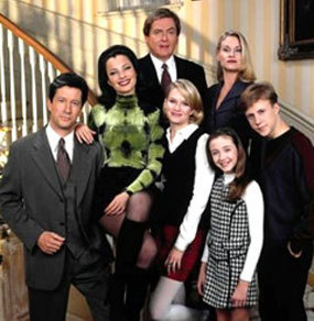 The Nanny wallpaper containing a business suit and a well dressed person entitled The Nanny Cast