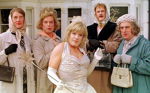 Monty Python wallpaper with a bridesmaid called The Python's with Eddie Izzard
