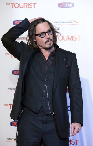 The Tourist Rome Premiere Dec 15-Johnny Depp
