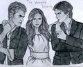The Vampire Diaries drawing