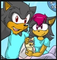 The day Shadow was born - shadow-the-hedgehog photo