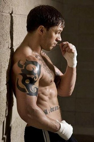 Tom Hardy Hintergrund Containing A Hunk Six Pack And Skin Titled As