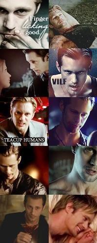 True Blood Eric アイコン collage