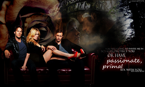 True Blood Sookie, Bill and Eric <3