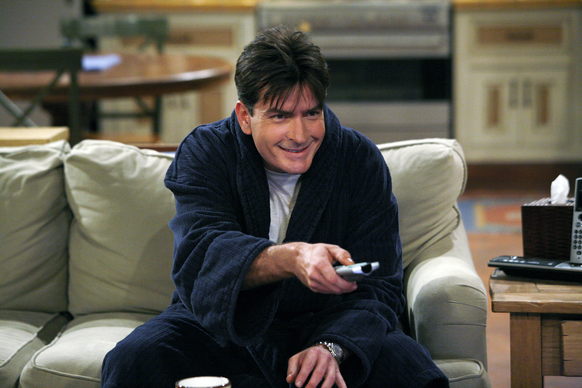 Image result for charlie sheen two and a half men