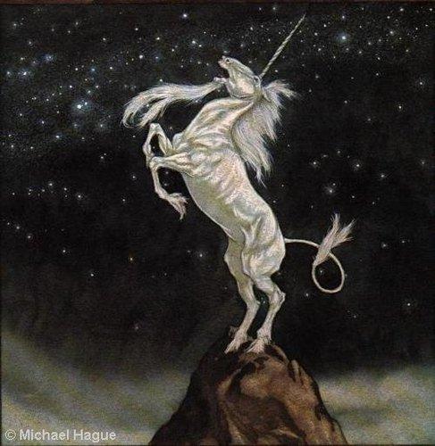 unicorns oleh Michael Hague