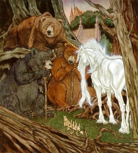 unicorni da Michael Hague