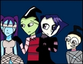 Vocaloid Invader Zim cross over.  - invader-zim fan art