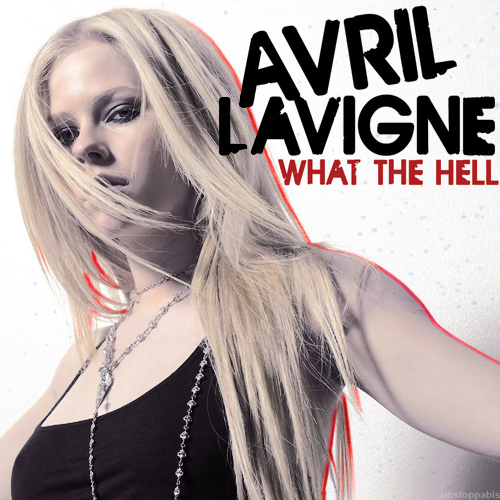 What The Hell [FanMade Single Cover] - Avril Lavigne 500x500