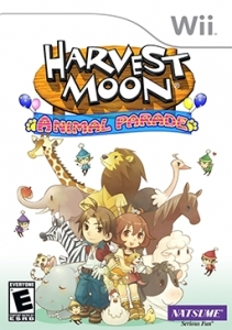 Wii Cover For Animal Parade