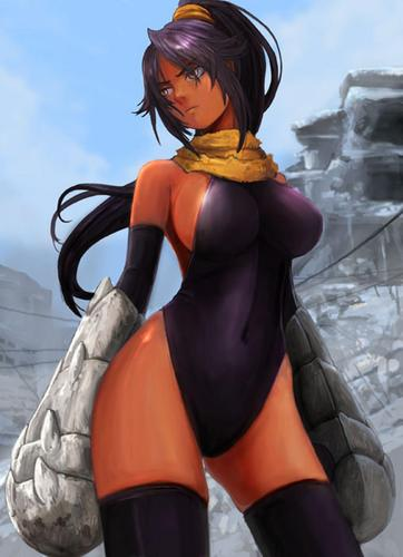 Bleach Anime wallpaper titled Yoruichi