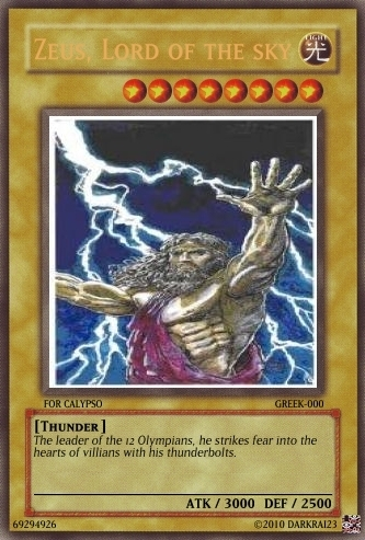 Yu-Gi-Oh fond d'écran possibly containing animé called Zeus Card