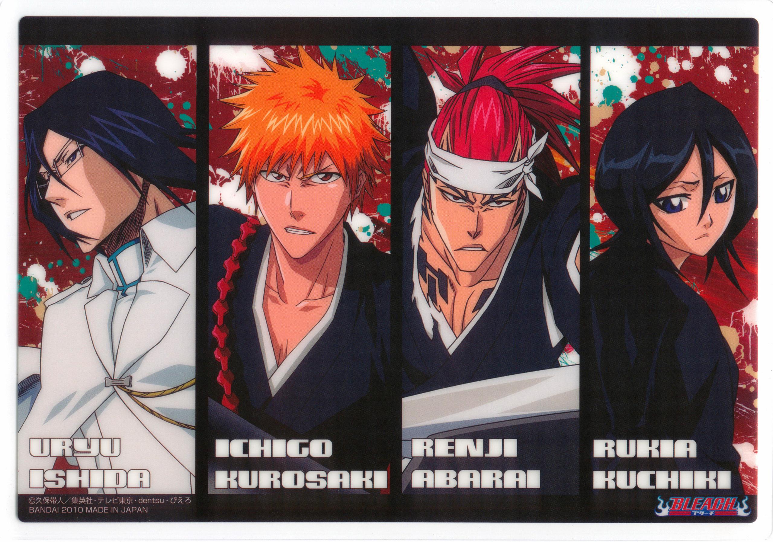 Ishida-Ichigo-Renji-Rukia