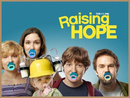 Raising Hope wallpaper entitled cast