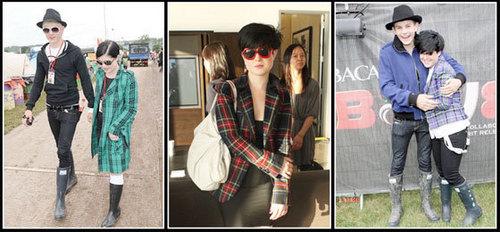 celebs wearing material girl