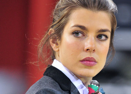 princess charlotte Casiraghi wallpaper containing a business suit titled charlotte