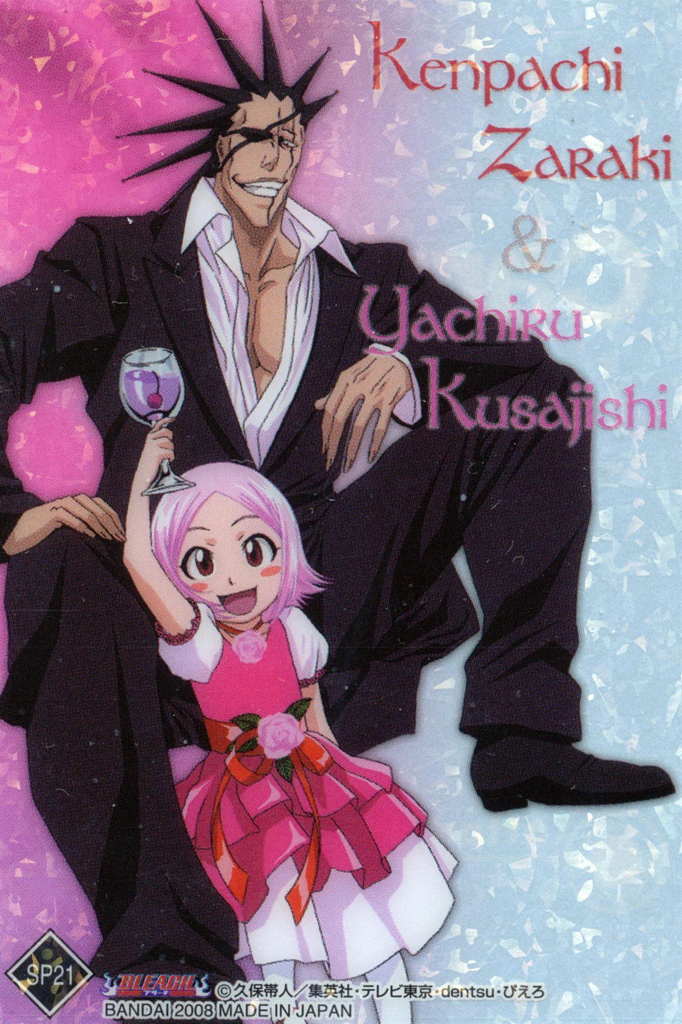 Yachiru and Kenpachi - Bleach Anime Photo (17795883) - Fanpop