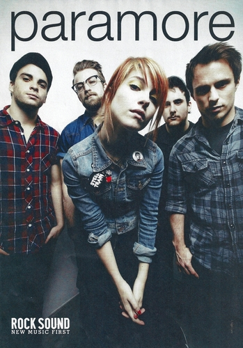 Brand New Eyes wallpaper probably containing a well dressed person, an outerwear, and a portrait entitled hayley jeremy _