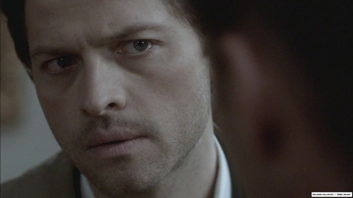 Castiel Wallpaper Possibly Containing A Business Suit And Portrait Entitled Little Confused