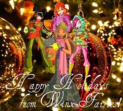 Феи винкс конкурс рисунков к празднику Новый год!