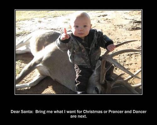 message to Santa