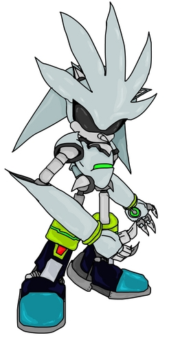 Silver the Hedgehog wallpaper probably containing Anime entitled metal silver