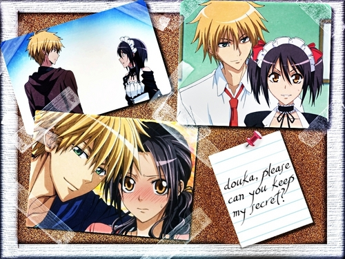 please can U keep my secret - kaichou-wa-maid-sama Wallpaper