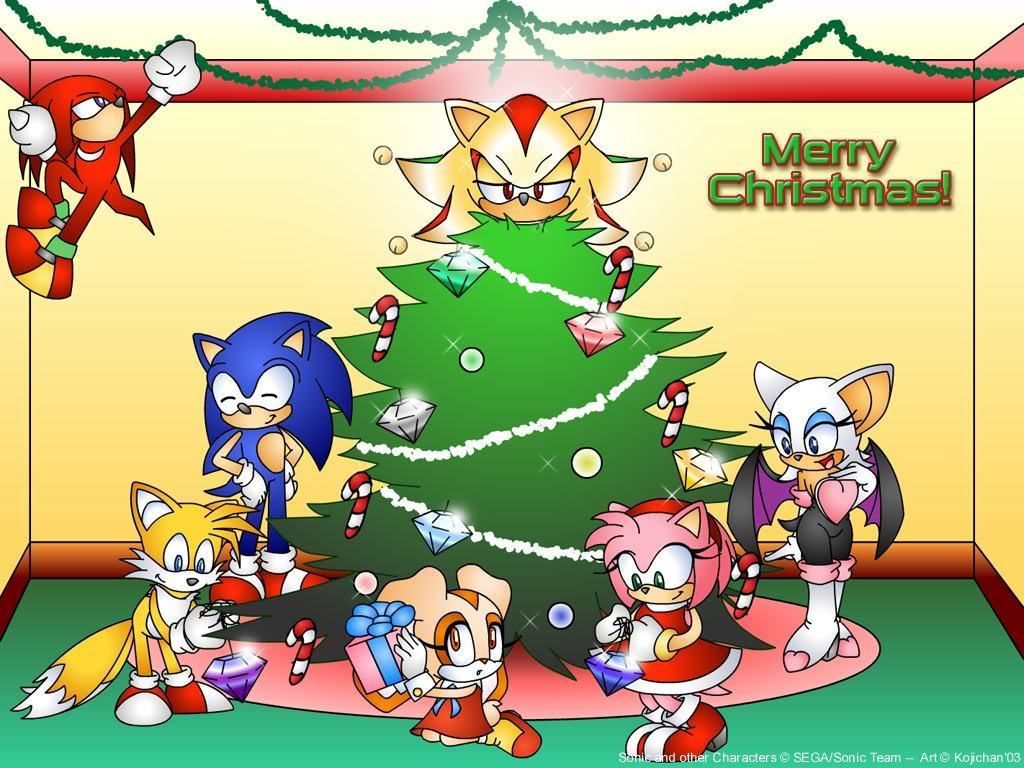 Shadow The Hedgehog shadow's christmas