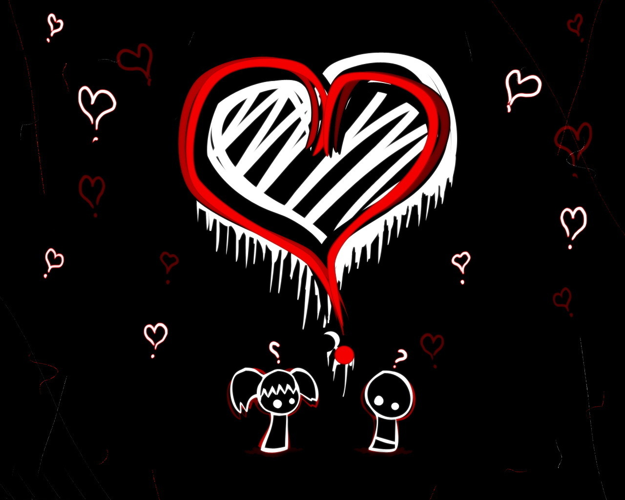 Emo Love Couples Hd Wallpapers And Pictures: Cute Emos Images