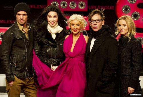"""Burlesque"" Germany Premiere"