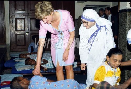 Princess Diana images  Diana_mother teresa wallpaper and background photos