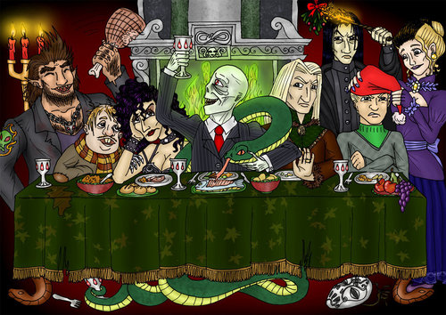 """ Last Supper"" death eater style"