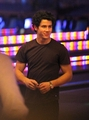 NICK AT THE BOWLING ALLEY - the-jonas-brothers photo