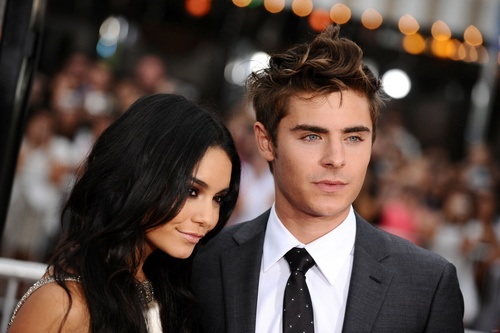 Zannessa wallpaper with a business suit, a suit, and a three piece suit titled 2010, Zac & Vanessa