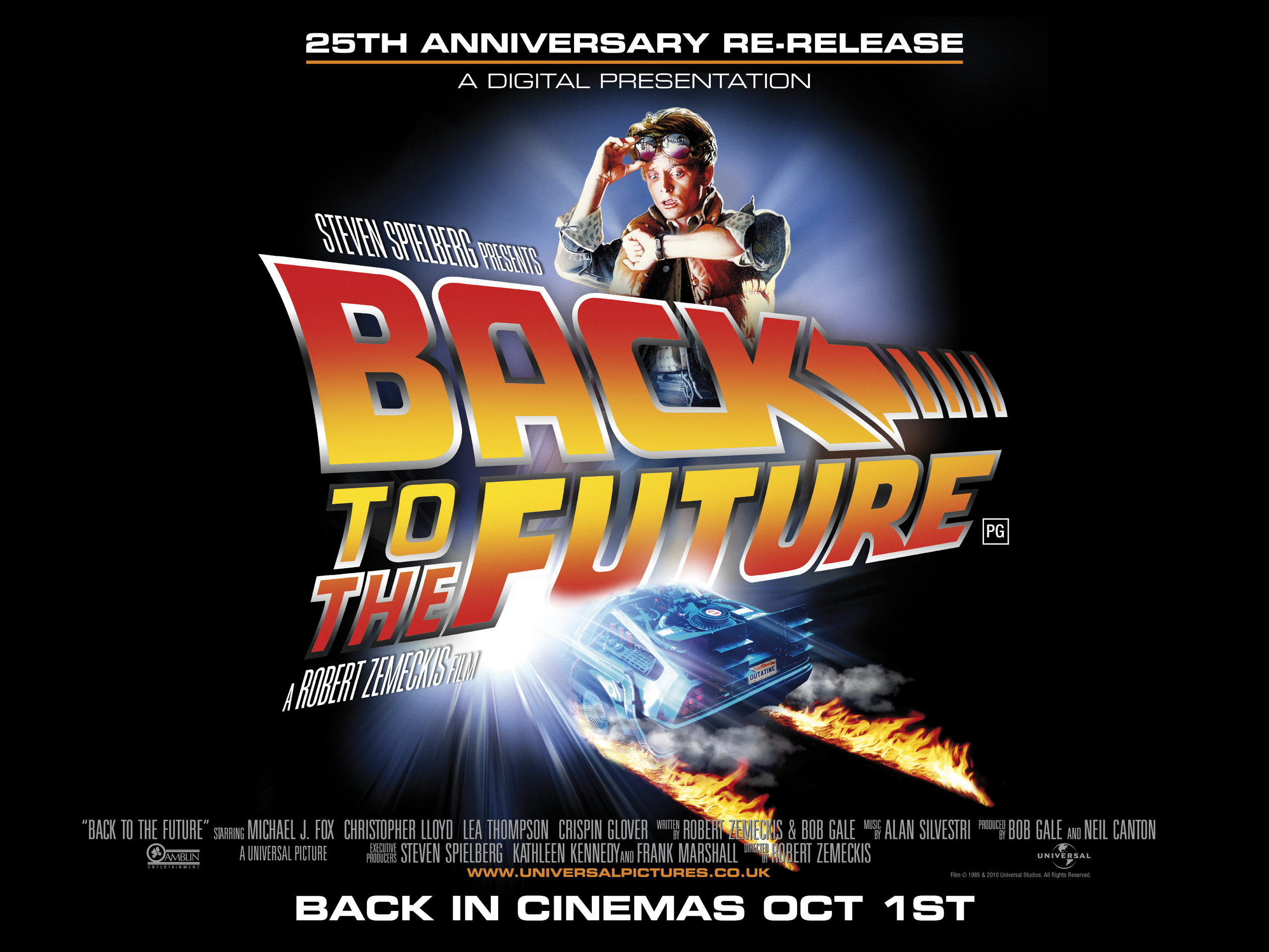 25th quad poster back to the future photo 17813985 fanpop