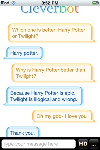 2nd Cleverbot Conversation