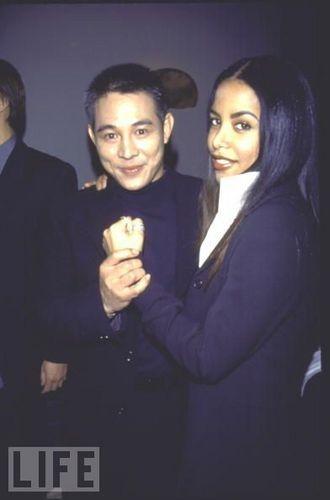 Aaliyah & Jet Li