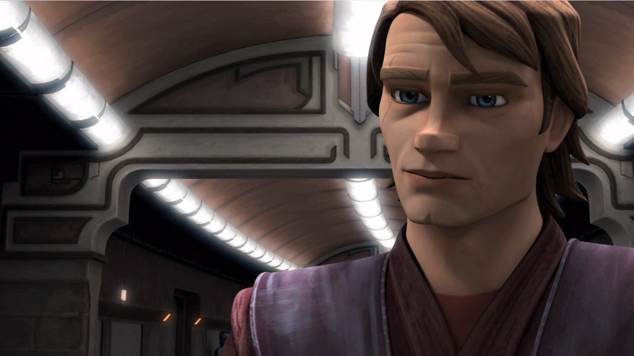 Star wars clone wars anakin s new look