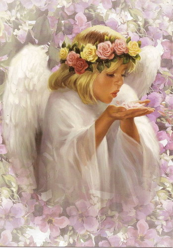 Angels wallpaper containing a bouquet entitled Angel