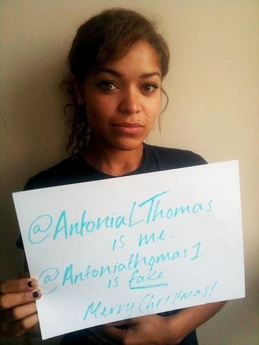 Antonia and Twitter :)