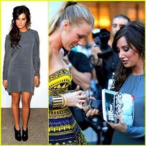 Ashley Tisale Fashion's Night Out!