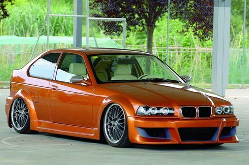 BMW wallpaper containing a sedan entitled BMW COMPACT TUNING