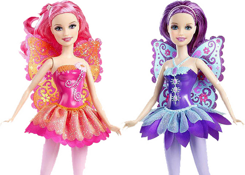 বার্বি A Fairy Secret: Let's look closer on these dolls!