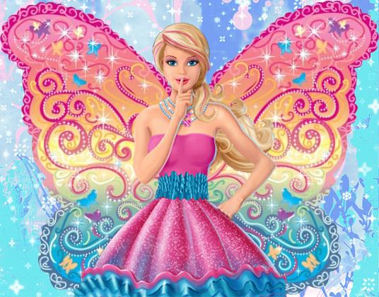 Barbie: A Fairy Secret - fã art (remake)